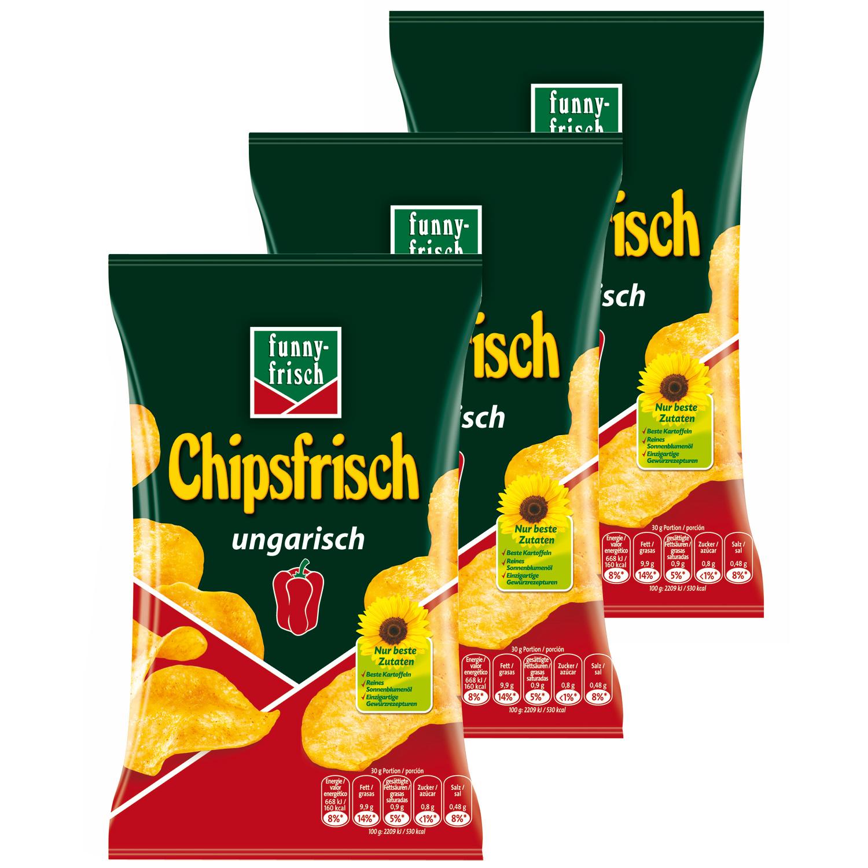[real/kaufland] funny-frisch Chipsfrisch Ungarisch zum Bestpreis von 0,45€/0,38€ lokal