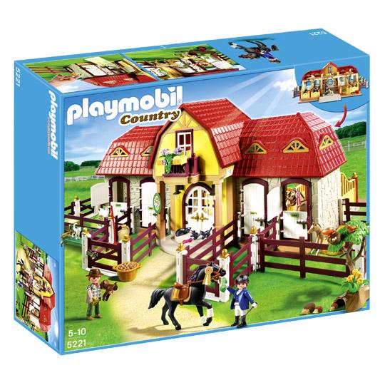 Playmobil 5221 Country Großer Reiterhof Mit Paddocks für 58,95€ [Real]