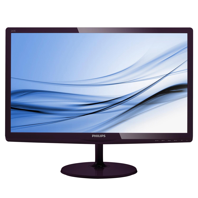 Philips 247E6QDAD (23,6 Zoll) LED-TFT: IPS-Panel, Lautsprecher, MHL, [HDMI, DVI-D, VGA], 5MS, Kopfhöreranschluss, Audio-IN  für 119€ @NBB.de