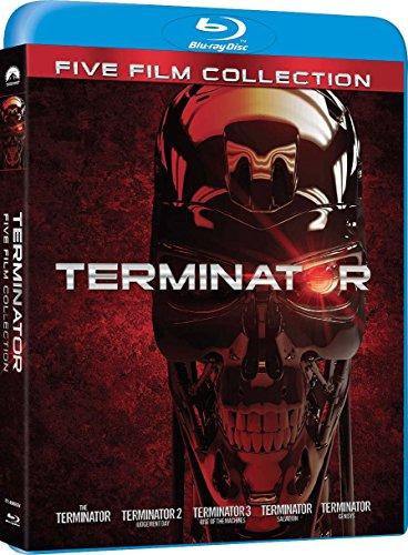 Terminator Collection (5x Blu-Ray) (OT) für 16,74 (Amzon.it)