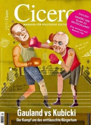 CICERO Jahresabo (12 Ausgaben) + 1 Monat gratis bei SEPA-Lastschriftmandat