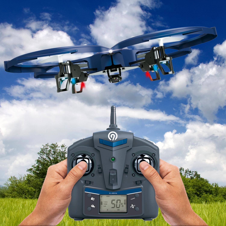 NINETEC Spaceship9 HD Video Kamera RC Drohne Quadrocopter für 69,00 Euro