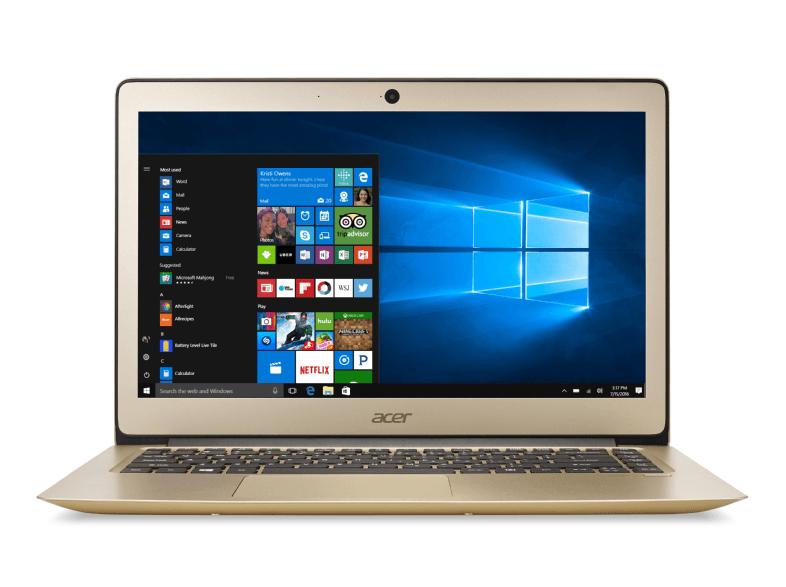Acer Swift 3 (14'' FHD IPS matt, i5-6200U, 8GB RAM, 256GB SSD, WLAN ac, USB Typ-C, bel. Tastatur, Aluminium-Unibody, 1,55kg Gewicht, Win 10) + Office 365 für 666€ - 50€ Cashback = 616€ [Saturn]