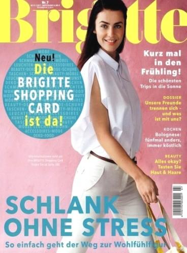 Jahresabo Zeitschrift Brigitte für effektiv 1€ durch 90€ Bestchoice Universalgutschein bei 91€ Abokosten