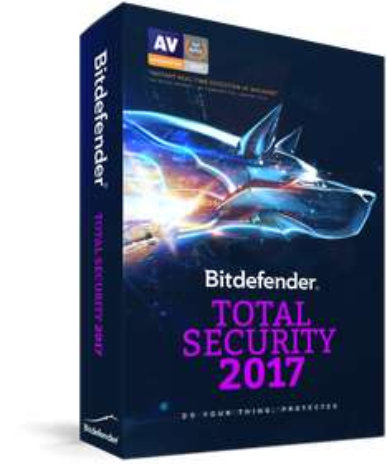 Bitdefender Total Security 2017 - 90Tage / 3 Monate kostenlos