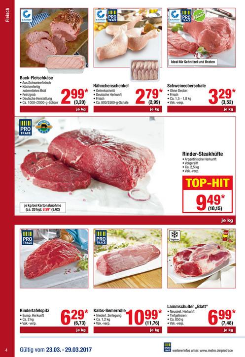[Metro] Argentinische Rinder-Steakhüfte wieder für 10,15€/kg