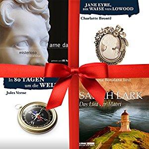 [audible] 4 neue gratis-Hörbücher gratis ohne Abo - 45 Stunden Hörvergnügen!