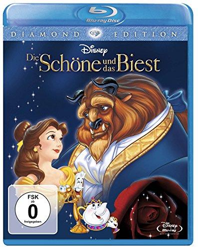 """Disney's """"Die Schöne und das Biest"""" (Diamond Edition 2015) auf Blu-Ray für 9,97 € [Amazon Prime]"""