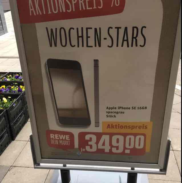 iPhone SE 16GB - Rewe Center Wandsbek (HH)