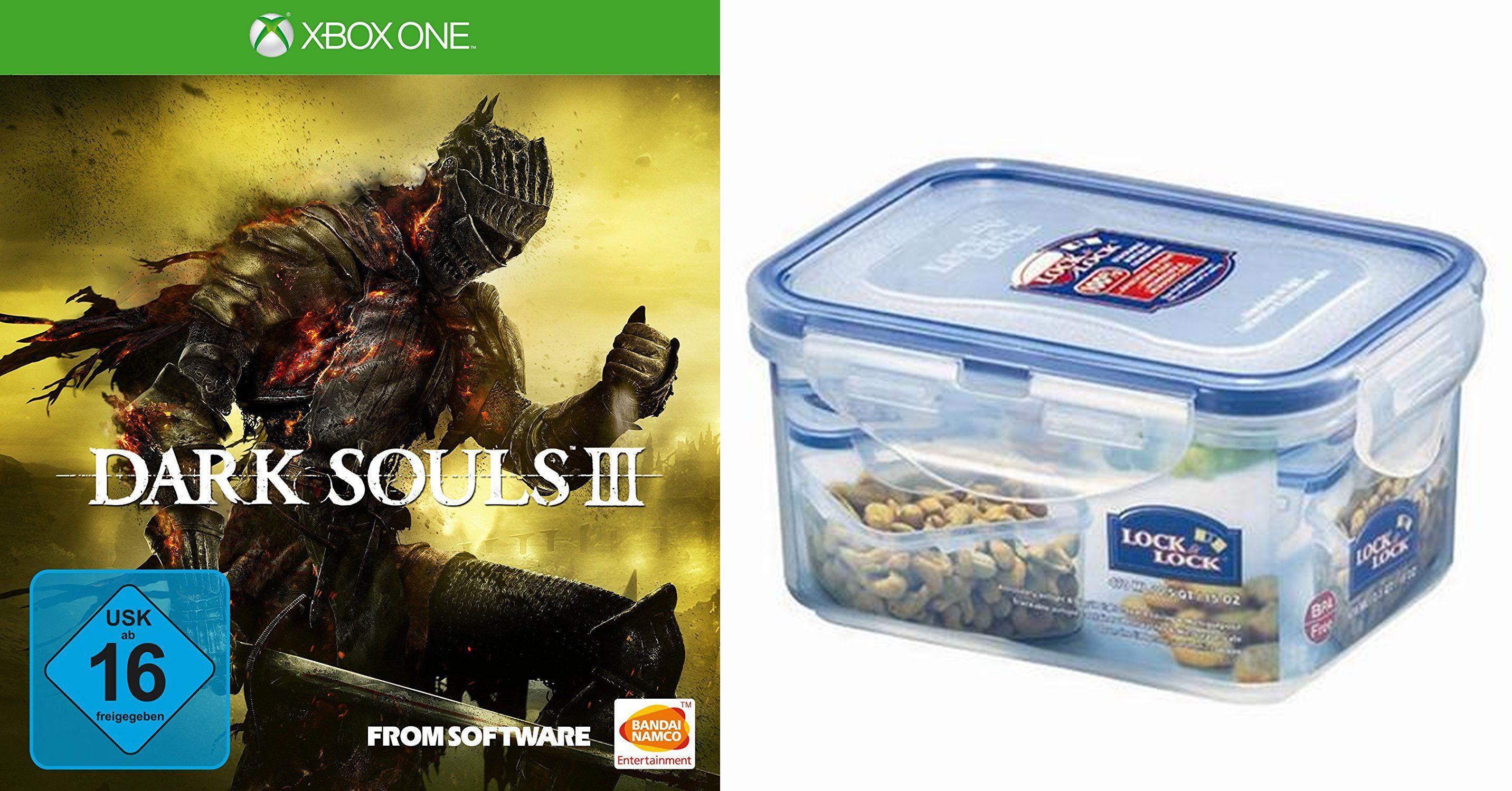 Xbox One - Dark Souls III (+ Lock&Lock Frischhaltebox) ab €20,14 [@Redcoon.de]