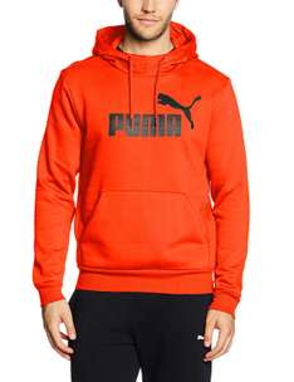 PUMA Herren Pullover ESS No.1 Hoody FL Größe L orange - prime
