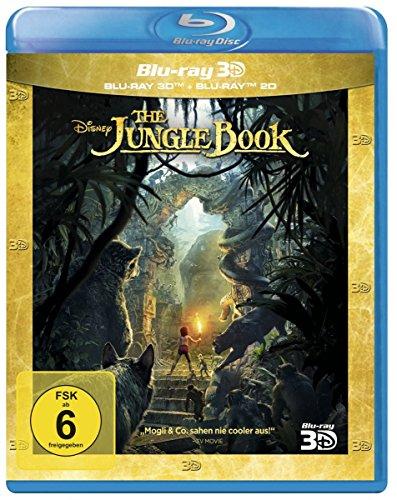 [Amazon] The Jungle Book 3D+ 2D [3D Blu-ray] für 14,97€ (Amazon Prime)