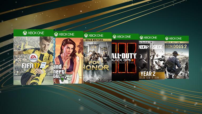 [Xbox Store] Europe Special Sale für Xbox One XBO mit 38 Angeboten, 12 Angebote für Xbox 360, bis zu 75% Rabatt