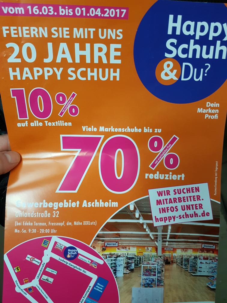 (München) 70% bei Happy Schuh