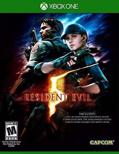 [amazon] Resident Evil 5 (US-Version / Codefree / Disc-Version) für Xbox One