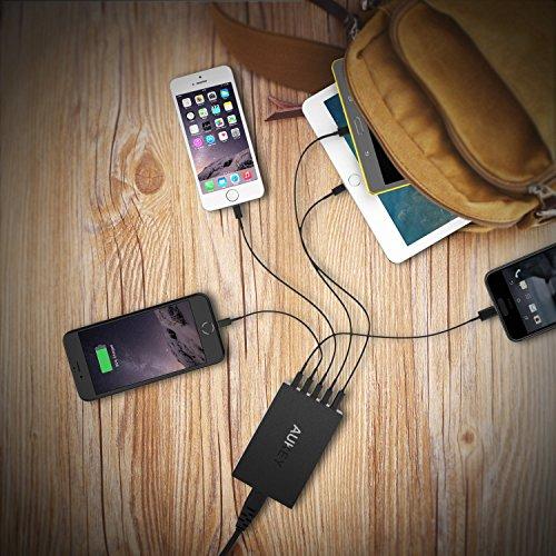 (Amazon Prime) AUKEY Quick Charge 3.0 USB 4x Ladegerät