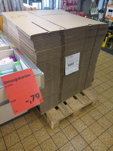 [Lokal?] Aldi Neufahrn /Eching Umzugskartons