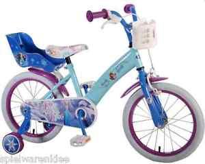 Eiskönigin Elsa Fahrrad in schöner Farbe und besonders stabil