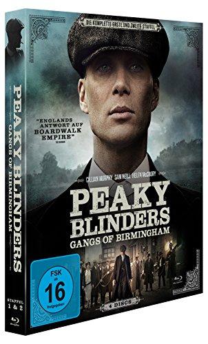 [Amazon Prime] Peaky Blinders, Staffel 1+2 auf Blu-ray für 19,97 €