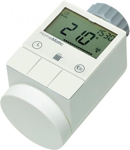 Homematic Funk-Heizkörperthermostat HM-CC-RT-DN für 33,- bei voelkner