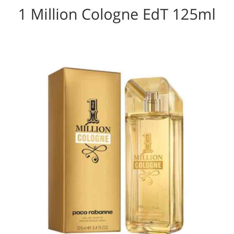 Paco Rabanne 1 Million Cologne EdT 125ml +Paco Rabanne One Million EdT Spray 10ml