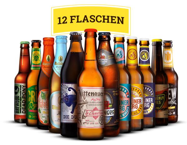 """BeerJack.de : Bier-Box """"Leichte Biere"""" für 19,90 Euro (inkl. Versand und Pfand) statt 29,90 Euro"""