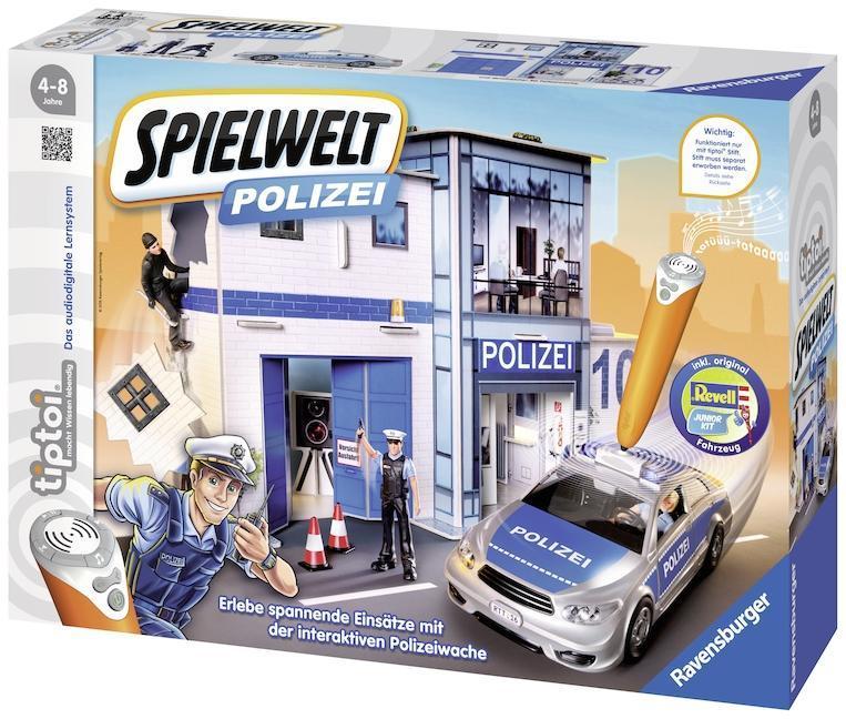 tiptoi Spielwelten für 12,74€ bis 14,44€ + 2,95€ VSK bei hugendubel.de (Polizei, Feuerwehr, Autorennen, Einkaufszentrum)