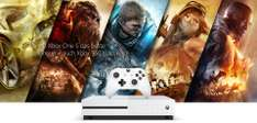 Microsoft Store: Xbox One S Gears of War 4 Bundle (1 TB) + 2ter Controller für 299€ + 10% Cashback [shoop]