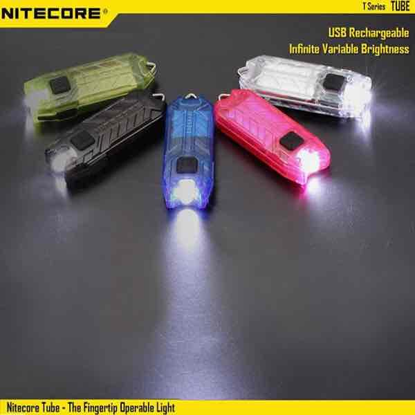 Nitecore Tube Schlüsselbund Taschenlampe