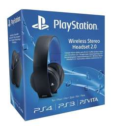Sony PS4 Wireless Stereo Headset für 62,42€ [Amazon.co.uk]
