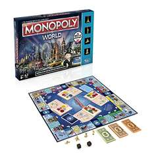 [Amazon Prime] Hasbro Spiele B2348100 - Monopoly World, Familienspiel