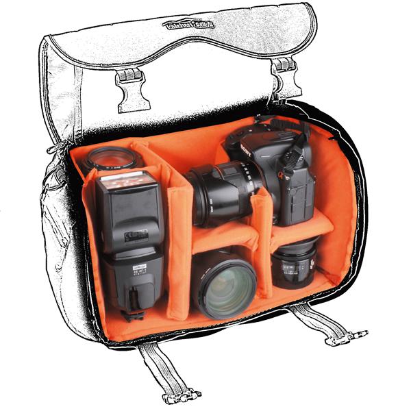 6x Zeitschrift N-Photo für 39,90€ und kalahari SWAVE S-14 Tasche als Prämie (PVG 68€) erhalten