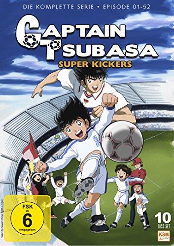 [Amazon Prime] Captain Tsubasa - Super Kickers - Gesamtedition Folgen 1-52 auf 10 DVDs für nur 39,97 €