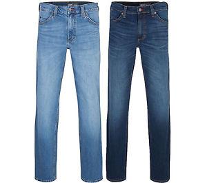 NEU MUSTANG Tramper Jeans Hose Herren Klassische Jeanshose Denim Blau