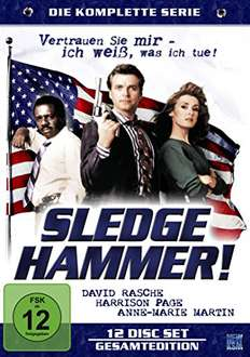 [Amazon Prime] Sledge Hammer - Komplette Serie [12 DVDs] für 37,99€