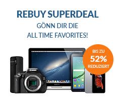 Rebuy Super Deal bis Montag - diverse iPhones, Kindle, Android, Tablets