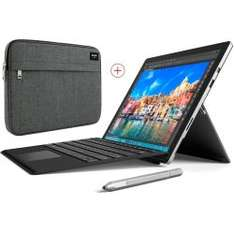 Surface Pro 4 (i5, 8GB RAM, 256GB  SSD) + Surface Pro Type Cover + Sleeve für 999€ [Cyberport]
