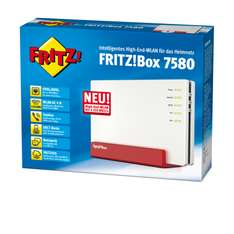 FRITZBOX 7580 249€ // Deutschlandweiter Versand! Vergleichspreis 289€