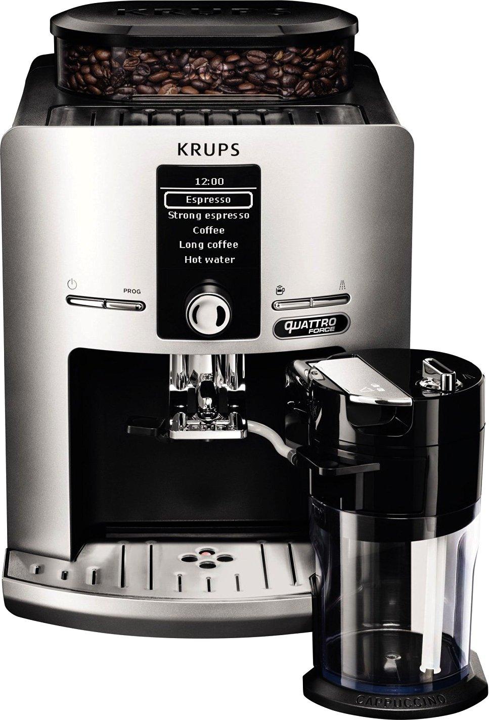 Brands4Friends- KRUPS Latt´Espress Silver Quattro Force