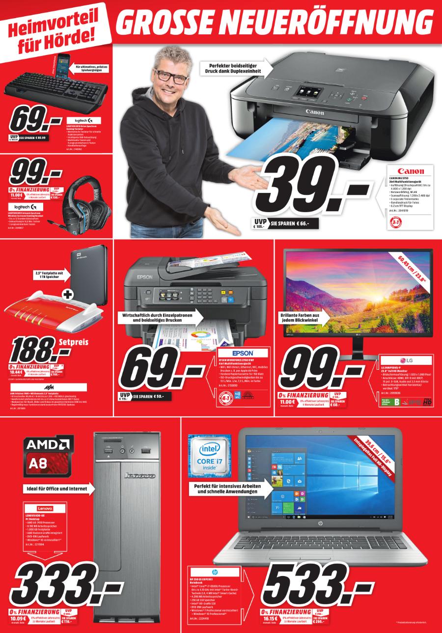 Mediamarkt Hörde LG Monitor 24 Zoll für 99 euro (23,8Zoll)