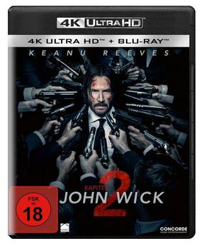 John Wick: Kapitel 2 - (4K Ultra HD Blu-ray) für 19,99 € (Thalia)