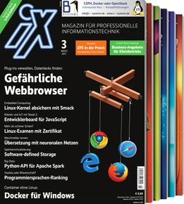 iX Magazin - 3 Ausgaben (Print + Digital) + Zugang zum Online Archiv + ABUS Kettenschloss Catena 680 (i.W.v.  25€) für zusammen 15,20€