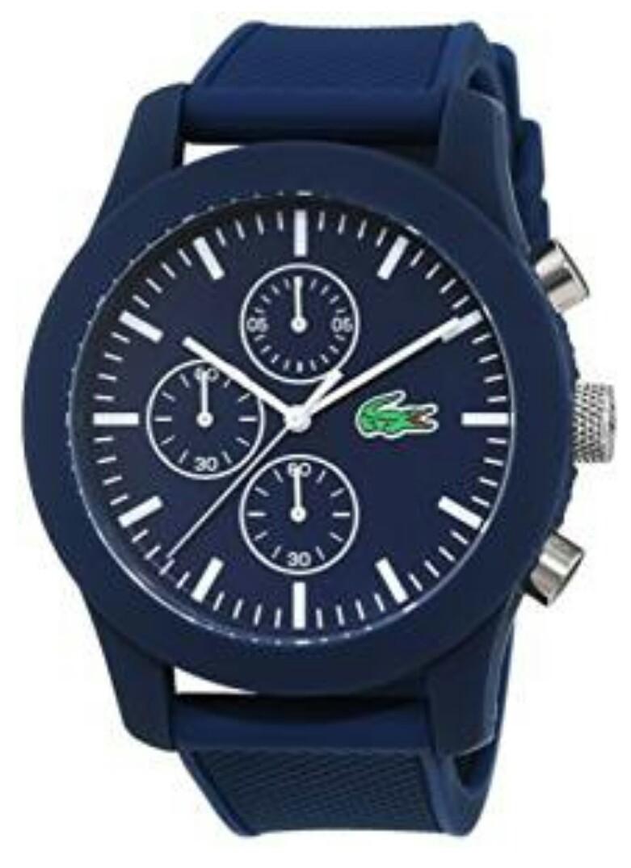 [Amazon + Valmano] Lacoste 2010824 Herrenuhr mit Silikon Armband für 55€ incl. Versand!