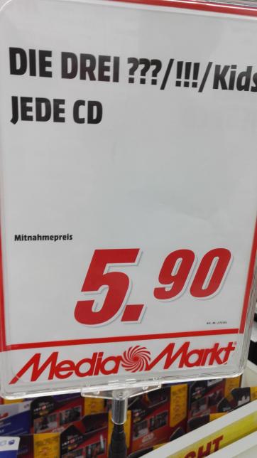 [Lokal?] Drei ??? CD's