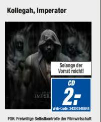 [Offline-Alle Expert Technikmarkt Filialen] Kollegah - Imperator (Standard Edition) CD für schlanke 2,-€