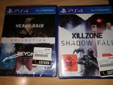 [Saturn Stuttgart] Killzone Shadow Fall, Heavy Rain/Beyond Two Souls Collection & mehr je 5€