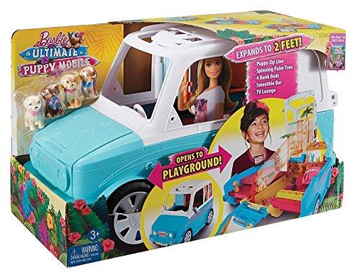 [Amazon oder Galeria Kaufhof] Mattel Barbie DLY33 - Die große Hundesuche Hunde-Mobil