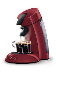 @eBay Philips Senseo HD7805/40 Kaffeepadmaschine Rot für 49,99 Euro