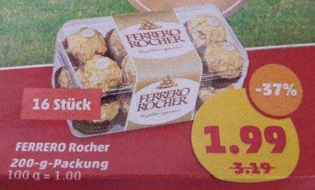 [Penny] 21x Ferreor Rocher für 36,79 € / 1,75 € pro Packung durch Penny-App am Fr. 31.03.2017