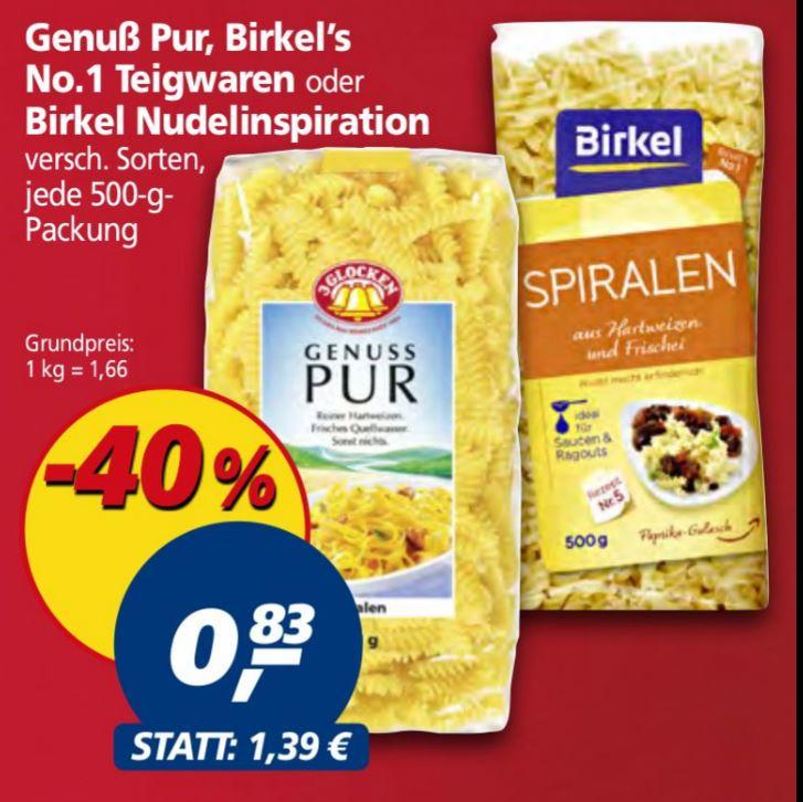 3Glocken ( z.B. die Sputniks ) und Birkel Eiernudeln für 0,83 € bei Real